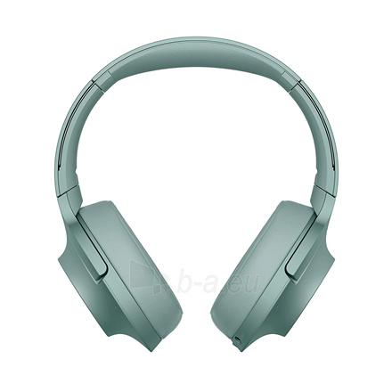 Ausinės Sony Headphones WHH900NG Headband/On-Ear, Noice canceling, Horizon Green Paveikslėlis 1 iš 11 310820222206