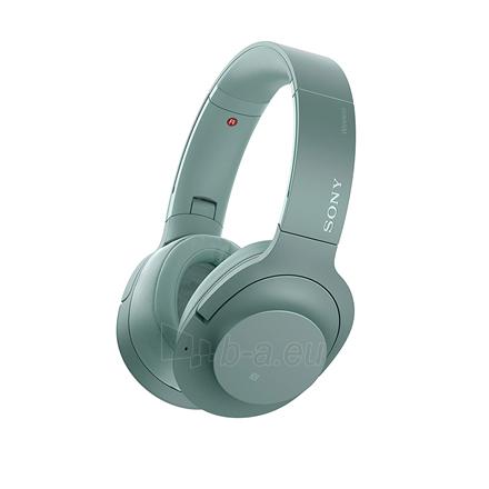 Ausinės Sony Headphones WHH900NG Headband/On-Ear, Noice canceling, Horizon Green Paveikslėlis 9 iš 11 310820222206