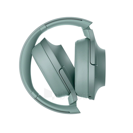 Ausinės Sony Headphones WHH900NG Headband/On-Ear, Noice canceling, Horizon Green Paveikslėlis 8 iš 11 310820222206