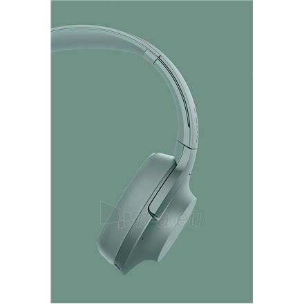 Ausinės Sony Headphones WHH900NG Headband/On-Ear, Noice canceling, Horizon Green Paveikslėlis 7 iš 11 310820222206