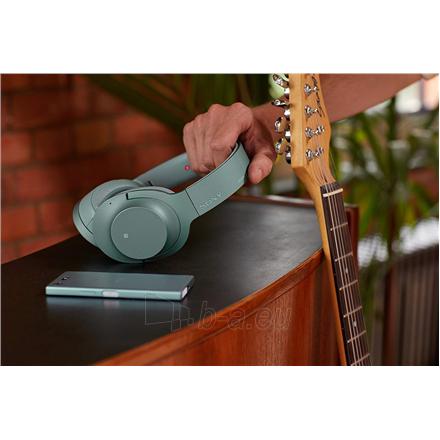 Ausinės Sony Headphones WHH900NG Headband/On-Ear, Noice canceling, Horizon Green Paveikslėlis 3 iš 11 310820222206