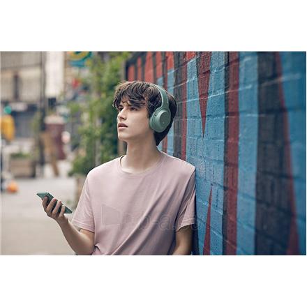 Ausinės Sony Headphones WHH900NG Headband/On-Ear, Noice canceling, Horizon Green Paveikslėlis 2 iš 11 310820222206