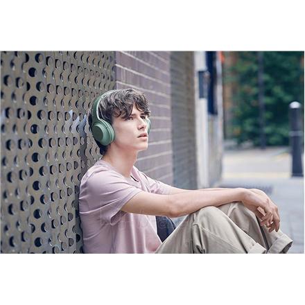 Ausinės Sony Headphones WHH900NG Headband/On-Ear, Noice canceling, Horizon Green Paveikslėlis 11 iš 11 310820222206