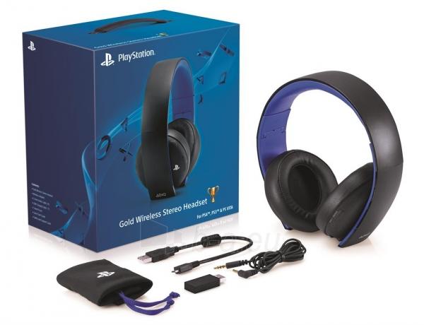 Ausinės Sony PlayStation PS4 Wireless Stereo Headset Paveikslėlis 3 iš 3 310820044962