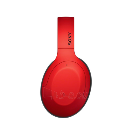 Ausinės Sony WHH910NR Over-ear, Noice canceling, Wireless, Yes, Red Paveikslėlis 5 iš 6 310820222249