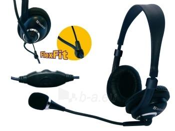 Ausinės su mikrofonu Sandberg Headset One Paveikslėlis 1 iš 2 250255090620
