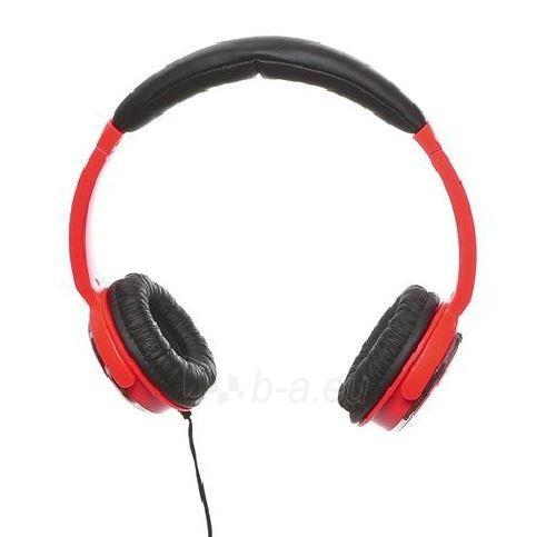Ausinės su mikrofonu Sandberg Homen Street Raudonos Paveikslėlis 1 iš 3 250255090622