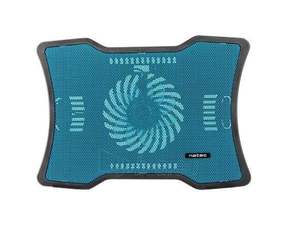 Aušintuvas NATEC laptop cooling pad MACAW Blue (12,1-15,6) silent fan with LED backlig Paveikslėlis 3 iš 3 310820044802