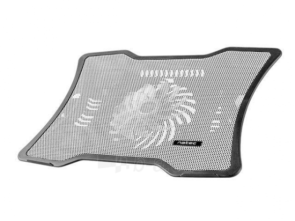 Aušintuvas NATEC laptop cooling pad MACAW White (12,1-15,6) silent fan with LED backlig Paveikslėlis 1 iš 3 310820044804