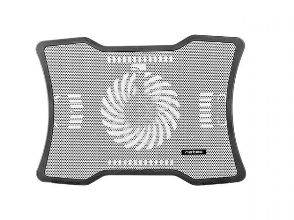 Aušintuvas NATEC laptop cooling pad MACAW White (12,1-15,6) silent fan with LED backlig Paveikslėlis 3 iš 3 310820044804