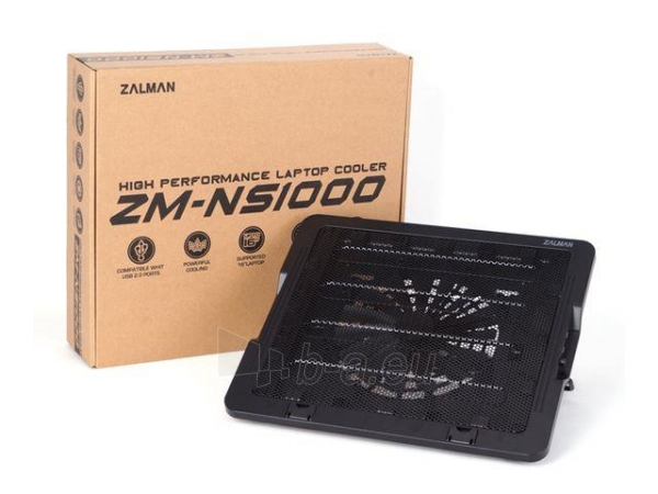 Aušintuvas Notebook stand Zalman ZM-NS1000 Paveikslėlis 5 iš 5 310820044569