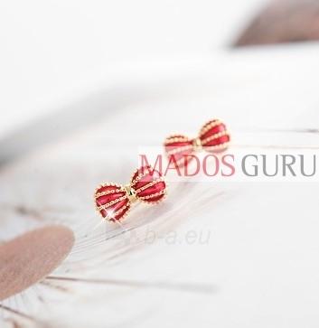 Earrings ''Ribbon'' A2606 Paveikslėlis 1 iš 1 30070000336