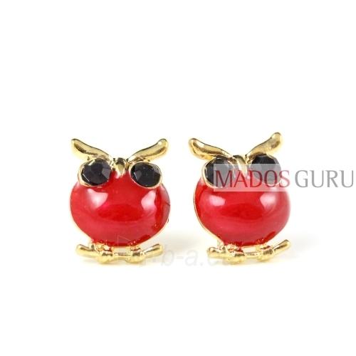 Earrings ''Owl'' A2841 Paveikslėlis 1 iš 1 30070000285