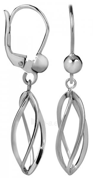 Auskarai Brilio Silver Spiral Silver Earrings 431 001 02665 04 Paveikslėlis 1 iš 3 310820179153