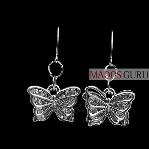 "Earrings ""Butterflies'' A268 Paveikslėlis 1 iš 1 30070000419"