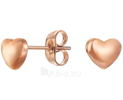 Auskarai Esprit  ES-Heart Nugget Rose ESER12896C Paveikslėlis 1 iš 1 30070003128