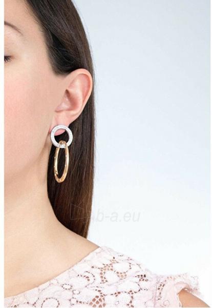 Auskarai Guess Distinctive bicolor earrings UBE83117 Paveikslėlis 2 iš 2 310820179485