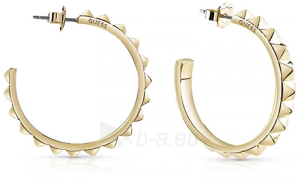 Auskarai Guess Gold-plated semicircular earrings UBE84066 Paveikslėlis 1 iš 3 310820126024