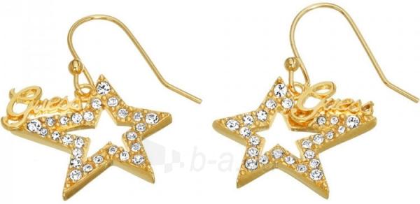 Auskarai Guess Gold-plated star earrings with UBE81302 crystals Paveikslėlis 1 iš 3 310820125679