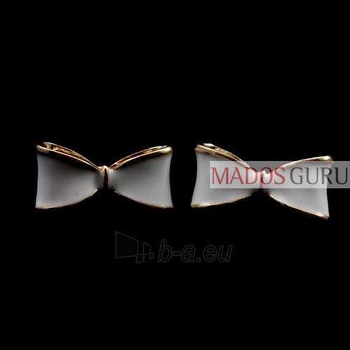"""Earrings """"Ribbon'' A102 Paveikslėlis 2 iš 2 30070000061"""
