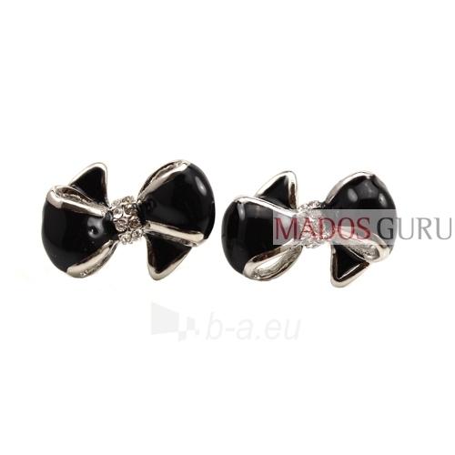 """Earrings """"Ribbon'' A162 Paveikslėlis 1 iš 1 30070000066"""