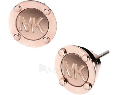 Auskarai Michael Kors Pozlacené luxusní náušnice s logem MKJ2987791 Paveikslėlis 1 iš 3 30070003254