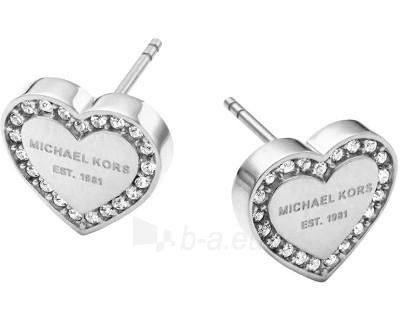 Auskarai Michael Kors Náušnice srdíčka s krystaly MKJ3966040 Paveikslėlis 1 iš 1 30070003243
