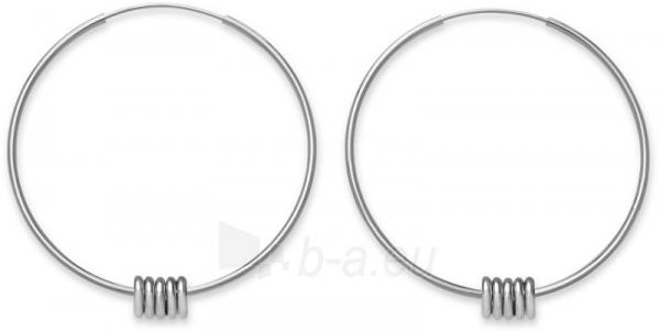 Auskarai Rosefield Steel ring earrings Iggy JSHLS-J068 Paveikslėlis 1 iš 3 310820182164