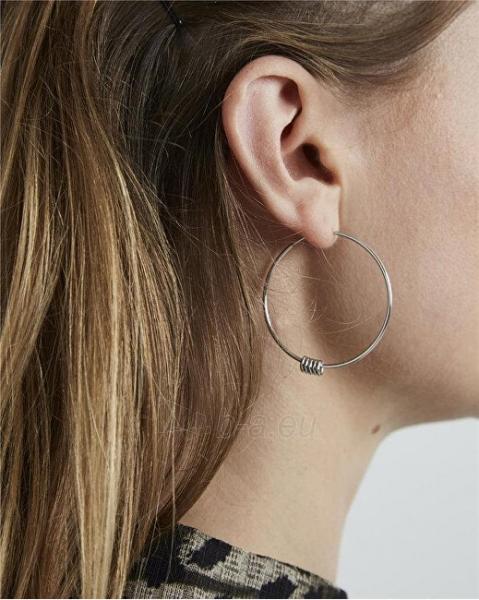 Auskarai Rosefield Steel ring earrings Iggy JSHLS-J068 Paveikslėlis 3 iš 3 310820182164