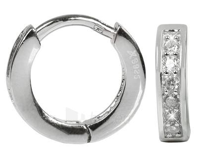Auskarai Selilya Silver Stříbrné kroužky SEJ24 Paveikslėlis 1 iš 1 310820000659