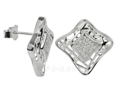 Auskarai Silver Cat Sidabriniai s krystaly SC018 Paveikslėlis 1 iš 1 30070003378
