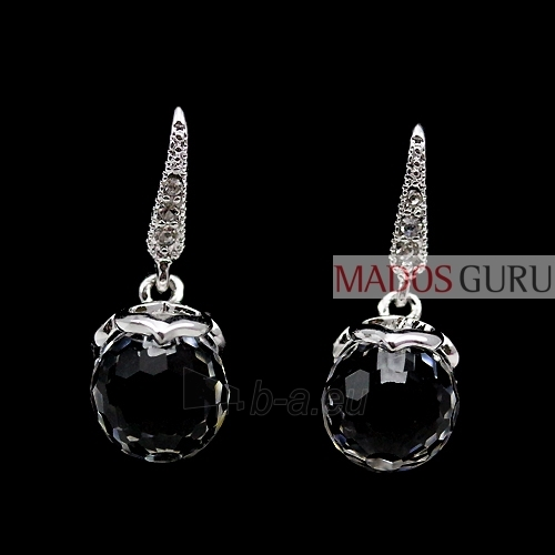 Earrings with Crystals A285 Paveikslėlis 2 iš 2 30070000418