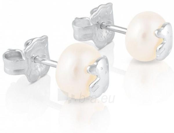 Auskarai Tous Earrings made of real pearls with bear 211140420 Paveikslėlis 4 iš 5 310820182260