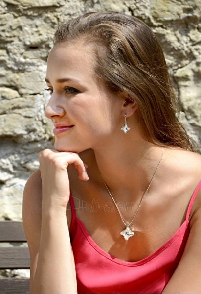 Auskarai Troli Bronze Silver earrings Twister Night Paveikslėlis 2 iš 2 310820179419