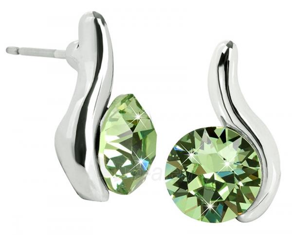 Auskarai Troli Peridot Earrings Chaton Wave Paveikslėlis 1 iš 5 310820183966
