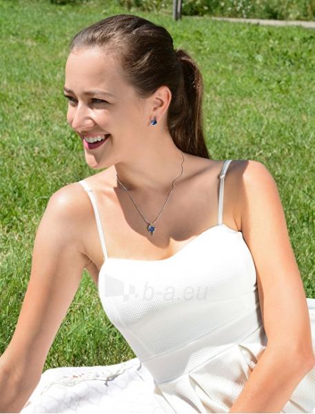 Auskarai Troli Peridot Earrings Chaton Wave Paveikslėlis 4 iš 5 310820183966