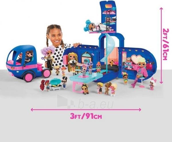 Autobusas LOL 569459 Surprise 4-in-1 Glamper Fashion Camper - With 55+ Surprises Автобус Кемпер 55 сюрпризов Paveikslėlis 3 iš 6 310820252888
