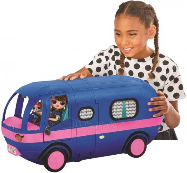 Autobusas LOL 569459 Surprise 4-in-1 Glamper Fashion Camper - With 55+ Surprises Автобус Кемпер 55 сюрпризов Paveikslėlis 6 iš 6 310820252888