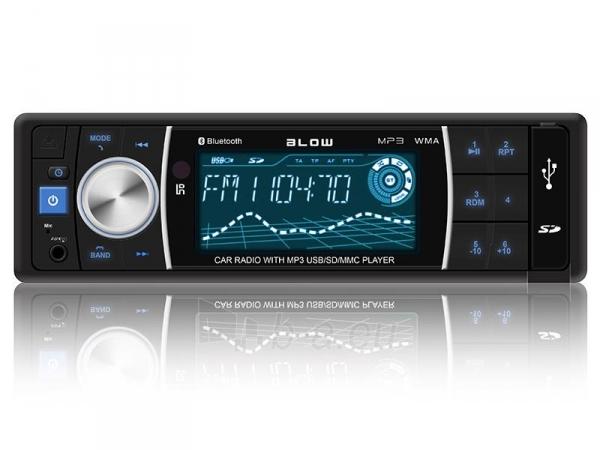 Automagnetola BLOW AVH-8686 MP3 + REMOTE + BLUETOOTH Paveikslėlis 1 iš 3 310820048307