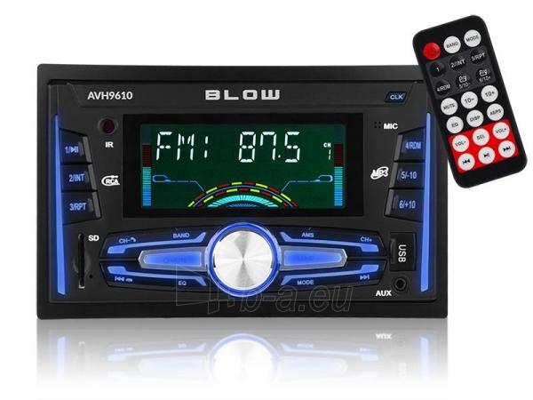 Automagnetola BLOW AVH-9610 2DIN Paveikslėlis 1 iš 5 310820167127