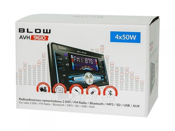 Automagnetola BLOW AVH-9610 2DIN Paveikslėlis 4 iš 5 310820167127