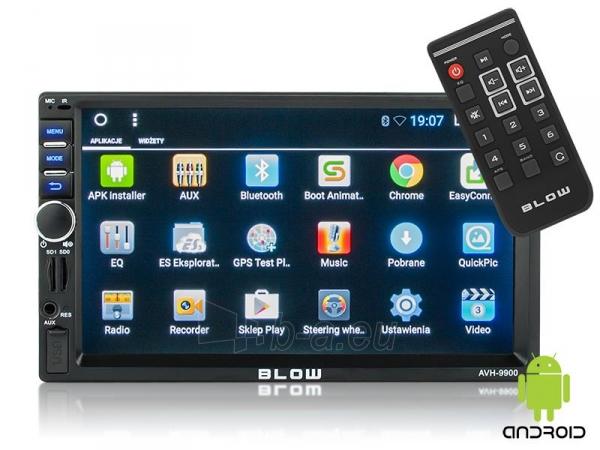 Automagnetola BLOW AVH-9900 2DIN 7 GPS Android Paveikslėlis 1 iš 5 310820167112