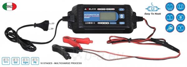 Automatinis inverterinis akumuliatoriaus įkroviklis Awelco Automatic 20 Paveikslėlis 2 iš 2 310820147374