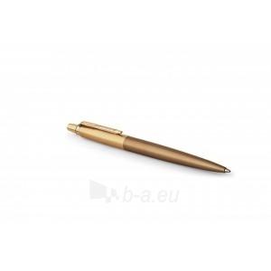 AUTOMATINIS TUŠINUKAS Parker Jotter Premium West End Brushed Gold Medium Blue (7442) Paveikslėlis 3 iš 4 310820124673