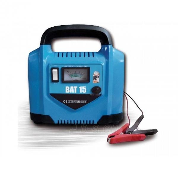 Automobilinis akumuliatorių įkroviklis Awelco BAT15 230V 10A 12/24V Paveikslėlis 1 iš 2 310820147621