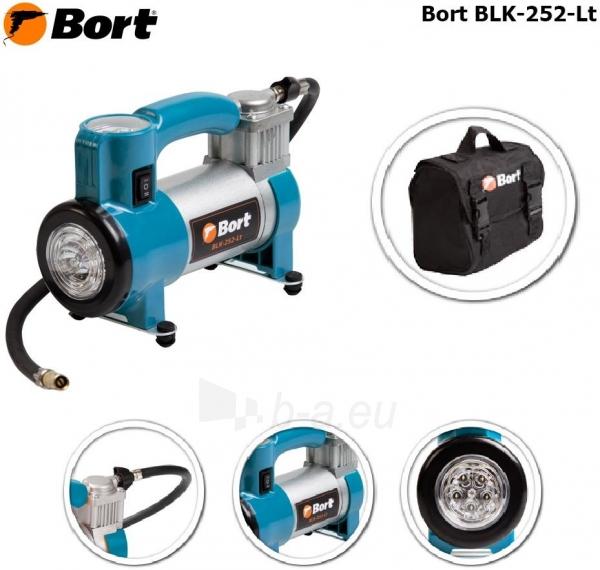 Automobilinis oro kompresorius su pašvietimu BORT BLK-252-LT Paveikslėlis 2 iš 2 310820193632