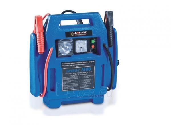 Automobilinis portatyvinis paleidėjas (būsteris) AWELCO ENERGY 1500, 230V, 300A, 12V Paveikslėlis 1 iš 1 310820147622