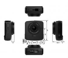 Automobilinis registratorius C81 SuperHD LCD2.4 160° Paveikslėlis 3 iš 3 310820157547