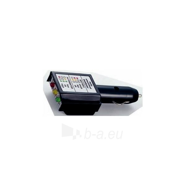 Automobilio baterijos ir pakrovimo sistemos analizatorius FORCE 88424 Paveikslėlis 1 iš 1 30028600195