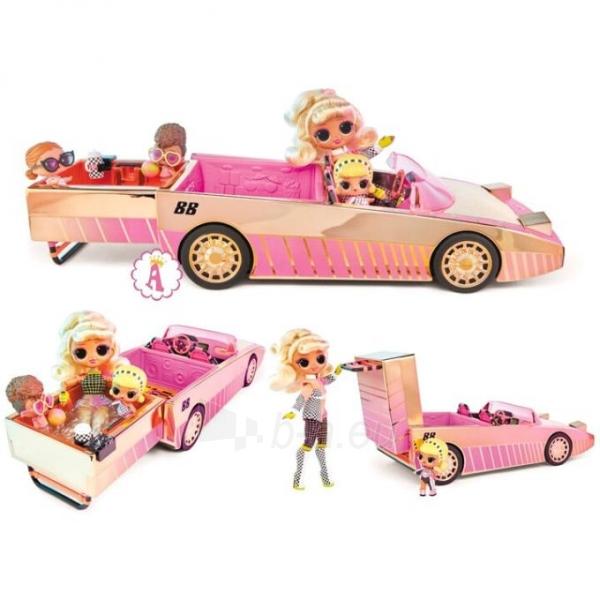 Automobilis 565222 LOL Surprise Car-Pool Coupe with Exclusive Doll L.O.L. OMG Кабриолет Paveikslėlis 2 iš 6 310820252889